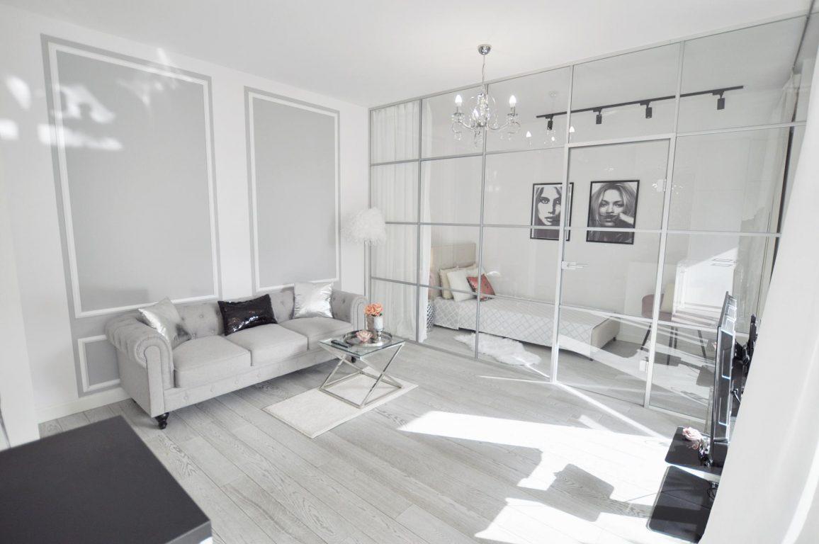 3-комнатная квартира 50 м2, Варшава