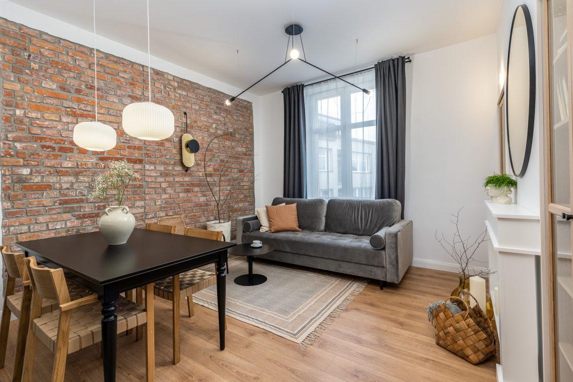 3-комнатная квартира 47 м2, Краковб ул. Prusa 29