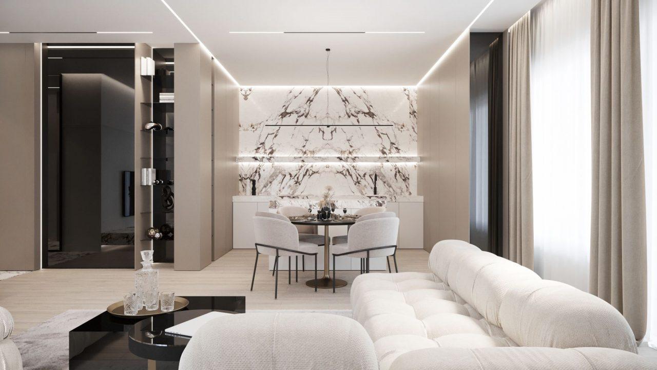 4-комнатная квартира 110 м2, Варшава, ул. Wolska