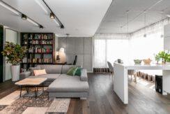 3-комнатная квартира 107 м2, Варшава