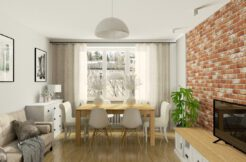 2-комнатная квартира 49 м2, Варшава, ул. Wiktorska 33