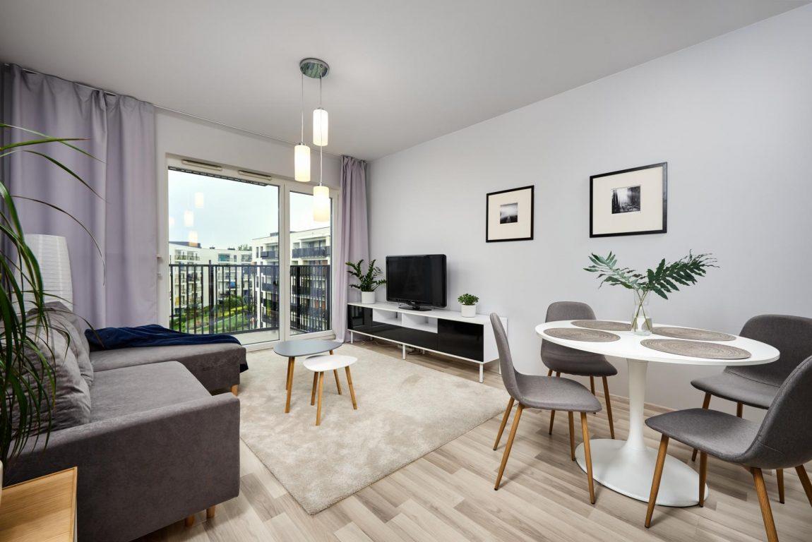 2-комнатная квартира 43 м2, Варшава, ул. Dygata 4